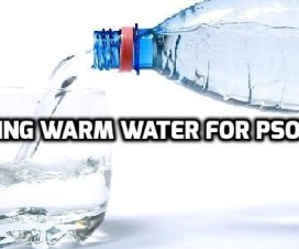 drinking warm water for psoriasis