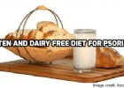 Psoriasis diet- gluten and dairy free diet