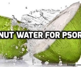 coconut water for psoriasis