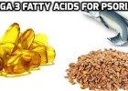 Omega 3 fatty acids for Psoriasis