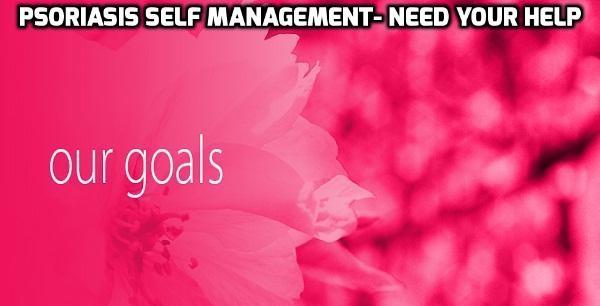 Psoriasis healing goals