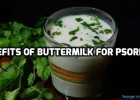 Buttermilk for psoriasis