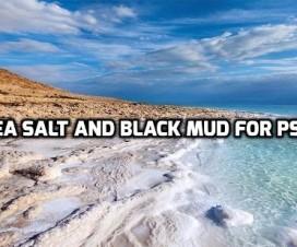 Dead sea salt and black mud for psoriasis