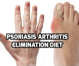 Psoriasis arthritis elimination diet