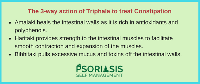 Triphala Constipation Psoriasis