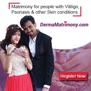 Vitiligo leucoderma Psoriasis marriage matrimony brides grooms